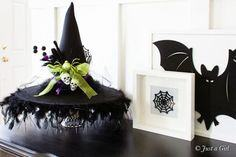 DIY Decorated Witch Hat