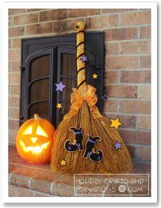 Enchanted Witch's Broom