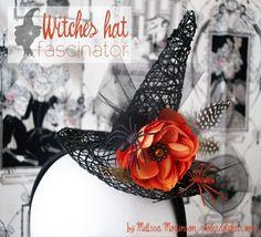 Witches hat fascinator