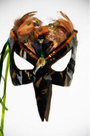 Black Witch Mask