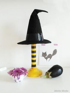 DIY Witch Lamp