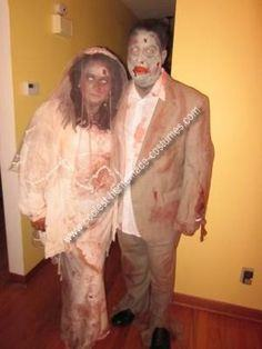 Couple Zombie Costume