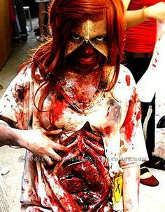 Zombie Zipper Face