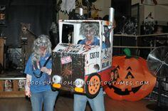 Zombie Truckers Couple